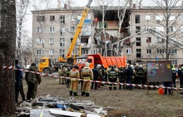 Nhiều người thương vong trong vụ nổ khí gas tại tòa nhà chung cư ở Nga
