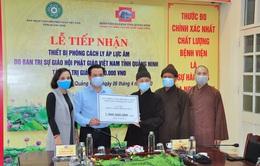 Giáo hội Phật giáo tỉnh Quảng Ninh trao tặng gần 2 tỷ đồng hỗ trợ phòng, chống dịch