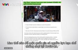 Cuộc chiến chống đại dịch COVID-19 của Việt Nam được báo chí thế giới ca ngợi