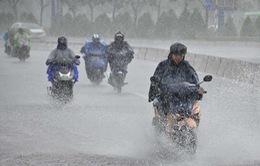 Cảnh báo mưa giông ở Tây Nguyên và Nam Bộ