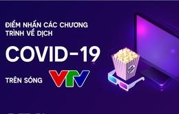 [INFOGRAPHIC] Điểm nhấn các chương trình về dịch COVID-19 trên sóng VTV