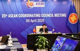 Hội đồng điều phối ASEAN lần đầu tiên họp trực tuyến