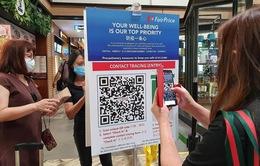 Singapore triển khai các công cụ theo dõi liên lạc kỹ thuật số trong giai đoạn giãn cách xã hội