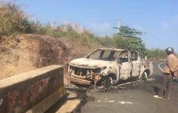 Bí thư xã nghi giết cháu vợ rồi đốt cùng xe ô tô, khiến gia đình nhận nhầm thi thể
