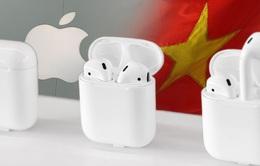 Hàng triệu tai nghe AirPods sắp được sản xuất tại Việt Nam