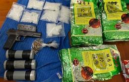 Phá đường dây ma túy xuyên quốc gia từ vụ nổ ở chung cư