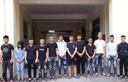 Khởi tố 14 đối tượng bốc đầu, đua xe trái phép ở Hà Nội