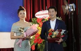 """Hồng Diễm đoạt giải Cánh diều: """"Thành công đến hơi muộn so với độ tuổi của tôi"""""""