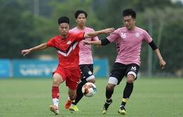 Giao hữu: CLB Hà Nội thắng CLB Viettel trong trận cầu 1 hiệp