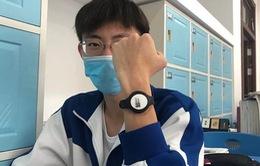 Trung Quốc thử nghiệm vòng đeo theo dõi nhiệt độ phòng chống COVID-19
