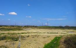 Nắng nóng kéo dài, hàng loạt hồ chứa tại Bình Thuận cạn trơ đáy