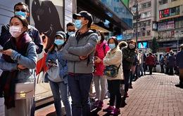Hong Kong (Trung Quốc) ghi nhận ca mắc COVID-19 trong cộng đồng đầu tiên sau 21 ngày