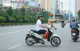 Hôm nay (15/5), CSGT Hà Nội bắt đầu tổng kiểm soát, được phép dừng tất cả các xe