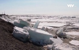 Băng tan gây lũ lụt nghiêm trọng tại Siberia, Nga
