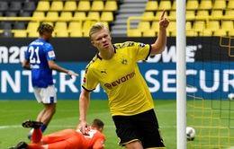 [KT] Dortmund 4-0 Schalke 04: Chủ nhà áp đảo, Haaland chói sáng!