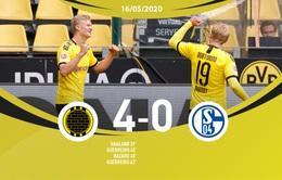 Borussia Dortmund 4-0 Schalke 04: Đại tiệc bàn thắng