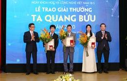 """Giải thưởng Tạ Quang Bửu 2020: Vinh danh các nhà khoa học tài năng và những """"tấm gương"""" chống dịch COVID-19"""