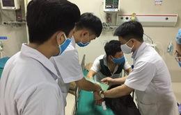 Trung tâm Chống độc Bệnh viện Bạch Mai tiếp nhận nhiều ca bị rắn độc cắn