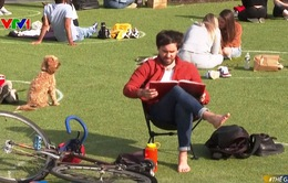Đến công viên vui chơi trong vòng tròn giãn cách