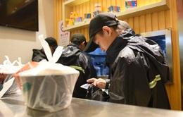 Dịch vụ giao đồ ăn trực tuyến làm gia tăng rác thải nhựa