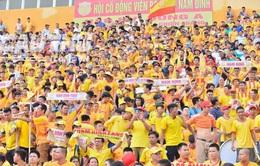 Trận đấu giữa DNH Nam Định và Hoàng Anh Gia Lai mở cửa đón khán giả