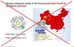 """Phạt Tổng giám đốc Bayer Việt Nam 30 triệu đồng vì gửi tài liệu có """"đường lưỡi bò"""""""
