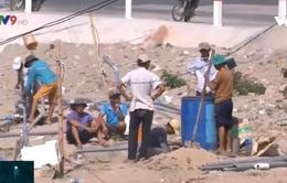 Ninh Thuận: Gian nan tìm nguồn nước ở vùng hạn