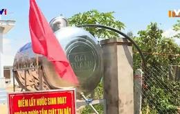 Chống nắng hạn, Khánh Hòa lắp đặt trạm cấp nước miễn phí cho người dân miền núi