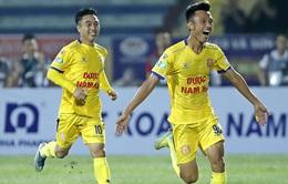 ẢNH: DNH Nam Định thắng thuyết phục, loại Hoàng Anh Gia Lai khỏi Cúp Quốc gia 2020