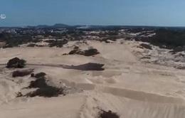 """""""Núp bóng"""" dự án du lịch, chủ đầu tư ngang nhiên trộm cả đồi cát đi bán"""