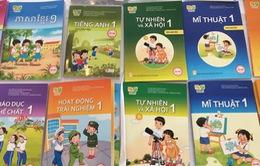 46 cuốn sách của 5 bộ sách giáo khoa lớp 1 mới đang gấp rút in ấn