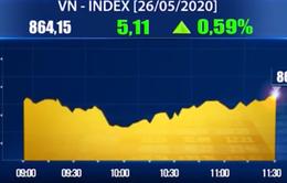 Chứng khoán 26/5: VN-Index vượt 860 điểm, giá trị giao dịch hơn 2.000 tỷ đồng