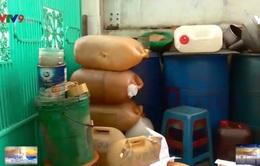"""Khánh Hòa: Hiểm họa những quả """"bom xăng"""" giữa khu dân cư"""