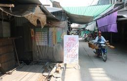 Khẩn cấp di dời 14 hộ dân khỏi khu vực nguy cơ sạt lở