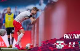 VIDEO Highlight Leipzig 2-2 Hertha Berlin: Chia điểm kịch tính (Vòng 28 VĐQG Đức Bundesliga)