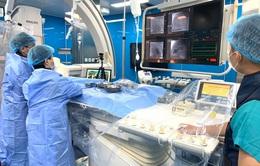 Can thiệp tim mạch trực tuyến  cho 5 bệnh nhi mắc bệnh lý tim bẩm sinh