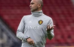 HLV Roberto Martinez gia hạn hợp đồng với Liên đoàn bóng đá Bỉ