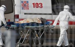 Nga tăng kỷ lục hơn 10.000 ca nhiễm trong một ngày