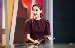 Hoa hậu Đỗ Mỹ Linh đầy tự tin trở lại với Bản tin Tiêu dùng 24h