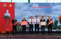Long An có huyện đầu tiên đạt chuẩn nông thôn mới