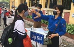 Tuổi trẻ Hà Nội đồng hành cùng học sinh trở lại trường học sau dịch COVD-19