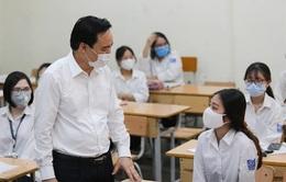 Bộ trưởng Phùng Xuân Nhạ: Không bắt học sinh phải làm dồn dập quá nhiều bài kiểm tra khi đi học trở lại