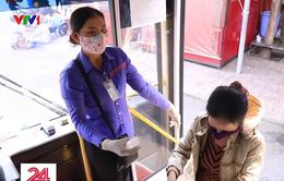 Xe bus TP.HCM đảm bảo an toàn vệ sinh khi hoạt động trở lại