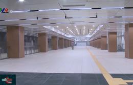 Nhiều hạng mục tuyến Metro số 1 vượt tiến độ