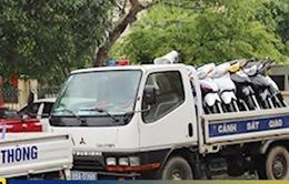 Vĩnh Phúc: Xử phạt nhóm đua xe trái phép