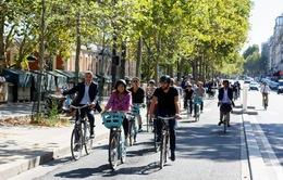 Paris (Pháp) khuyến khích người dân đi xe đạp