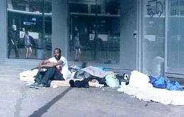 Những người vô gia cư tại Pháp không bị bỏ quên