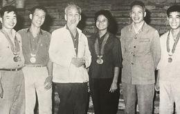 Nhà vô địch bơi lội châu Á chưa bao giờ quên lời Bác dạy