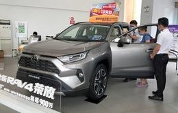 Doanh số bán xe của Toyota ở thị trường Trung Quốc bắt đầu tăng
