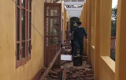 Mưa lớn kèm dông lốc tại Phú Thọ, Thái Nguyên khiến 7 người bị thương